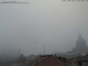 nevica a Pavia